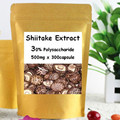 Shiitake Mushroom(Lentinula Edodes) Extract 30% Polysaccharide 300Capsule,500mg free shipping