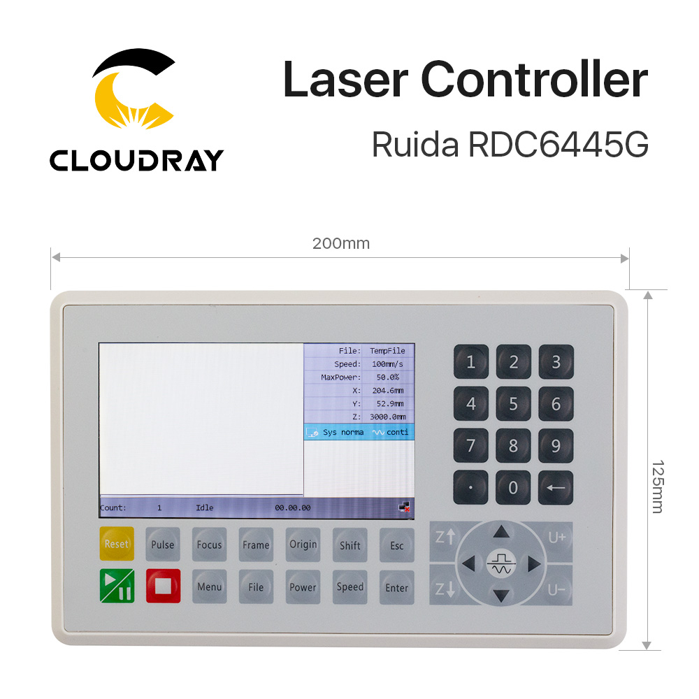 Ruida RDC6445 RDC6445G Controlador para Co2 Láser Grabado Máquina - Piezas para maquinas de carpinteria - foto 2
