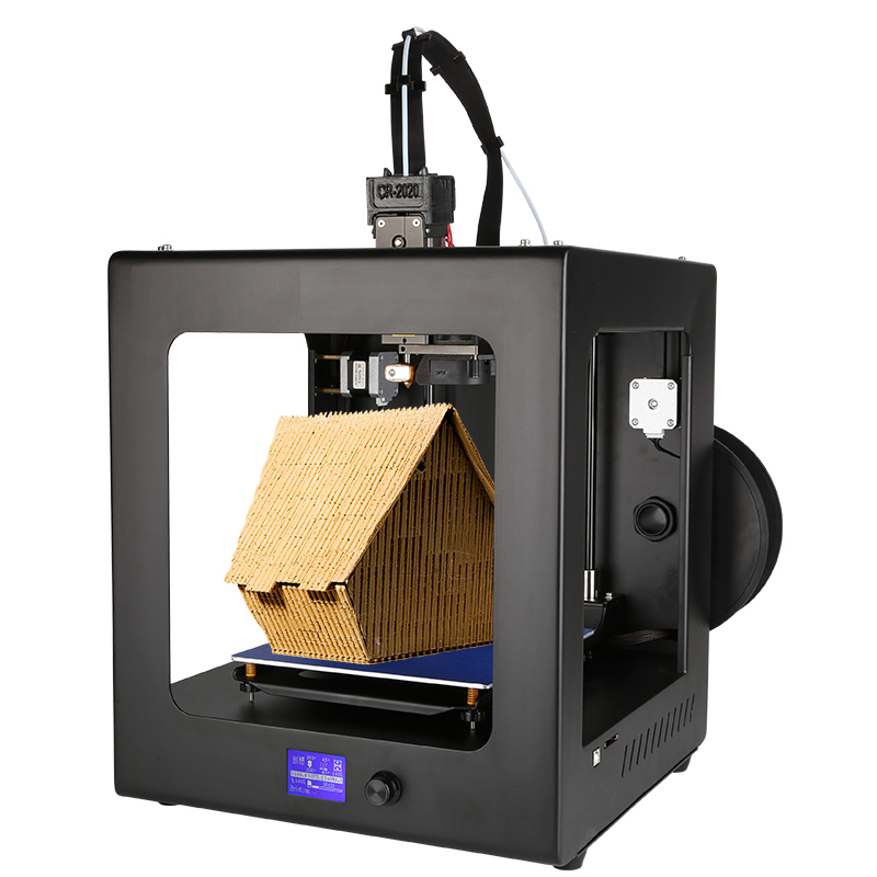 High Precision Desktop 3D Printers 200*200*200mm Printing Size FDM Technology Workbench PLA Filament SD Card and LCD new x5 desktop 3d printer big lcd display low decible diy 3d printers kit heated bed with 1 roll filament 8gb sd gifi