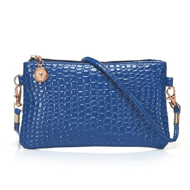 9696088daaaf fashion bags 2018 wallet new summer crocodile change casual small crossbody  Shoulder Messenger Bag women mobile phone bag