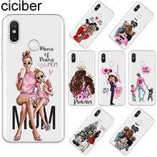 ciciber For Xiaomi 9 8 6 5 X A2 A1 5C 5S Plus Lite SE PocoPhone F1 Soft TPU Case For Xiaomi MIX MAX 3 2 1 S Pro Super MaMa Girls(China)