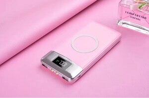 Image 4 - Беспроводное зарядное устройство 30000 мАч, внешний аккумулятор, встроенное Беспроводное зарядное устройство, портативное зарядное устройство для iPhone8 x note9, 2020