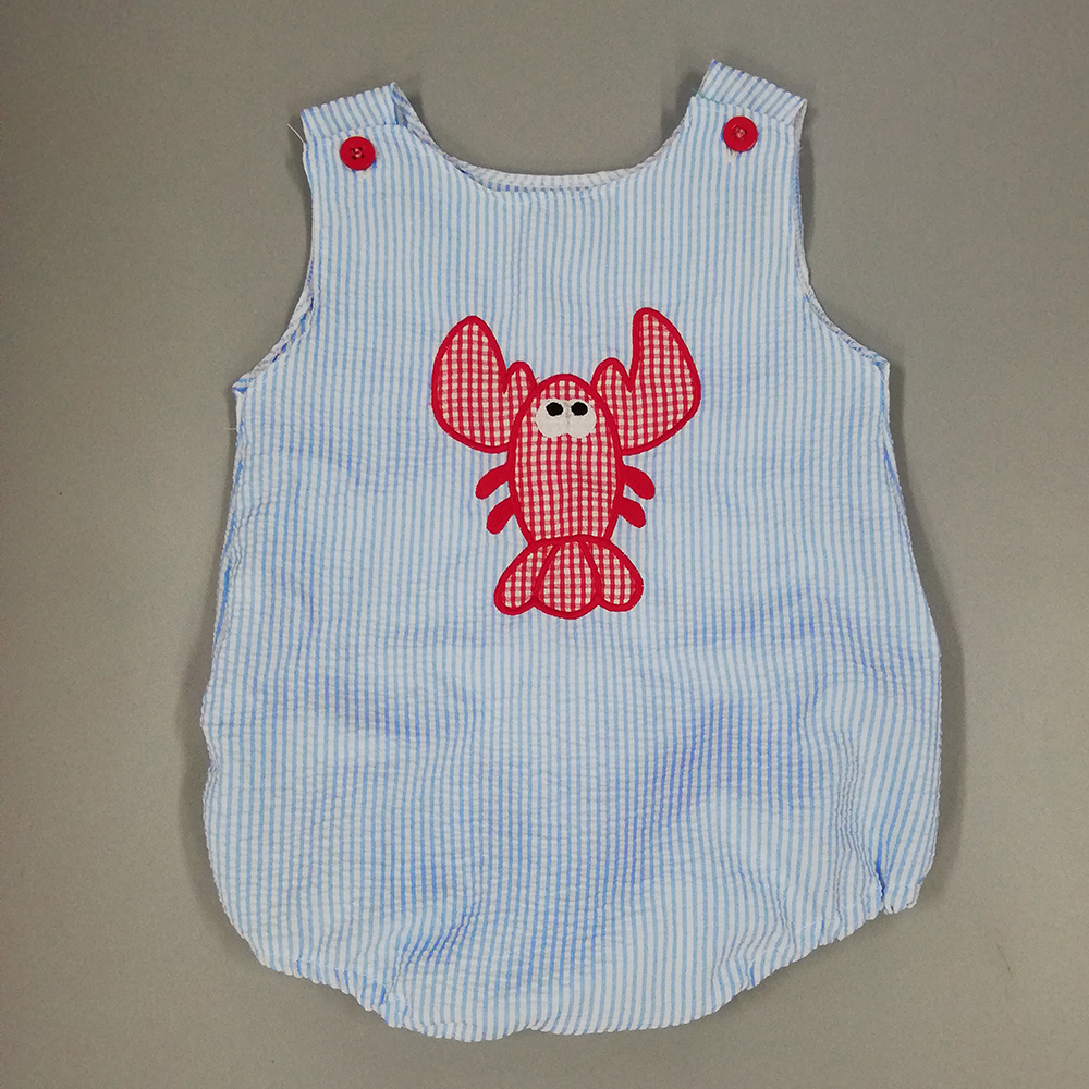 Baby   Romper   CONICE NINI Infant Baby Sleeveless Cotton Embroidered lobster cute modis   romper   baby boy clothes BPF904-140