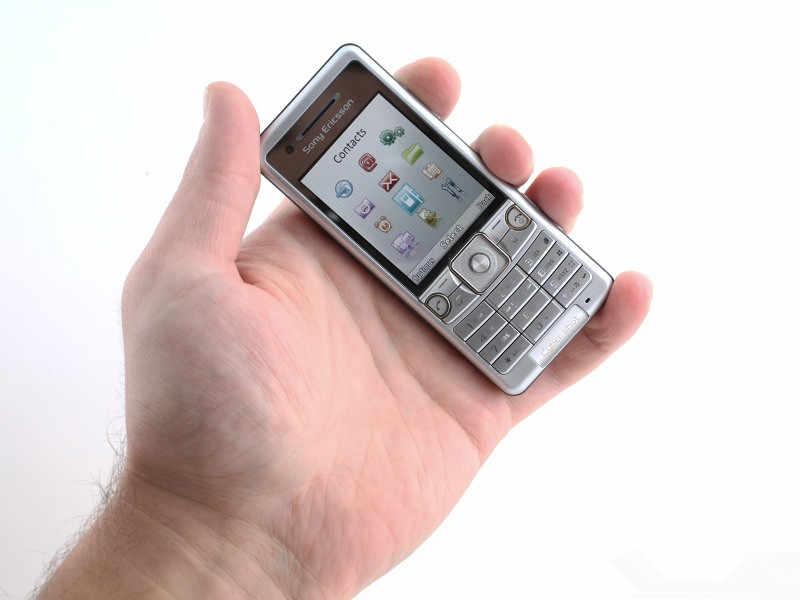 Оригинальный sony Ericsson C510 мобильного телефона 3.15MP Bluetooth FM разблокирована 3g сотовый телефон Восстановленное