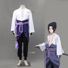 Athemis Naruto cosplay Uchiha Sasuke Cosplay Costume sur mesure unisexe tenues avec jupe Halloween vêtements