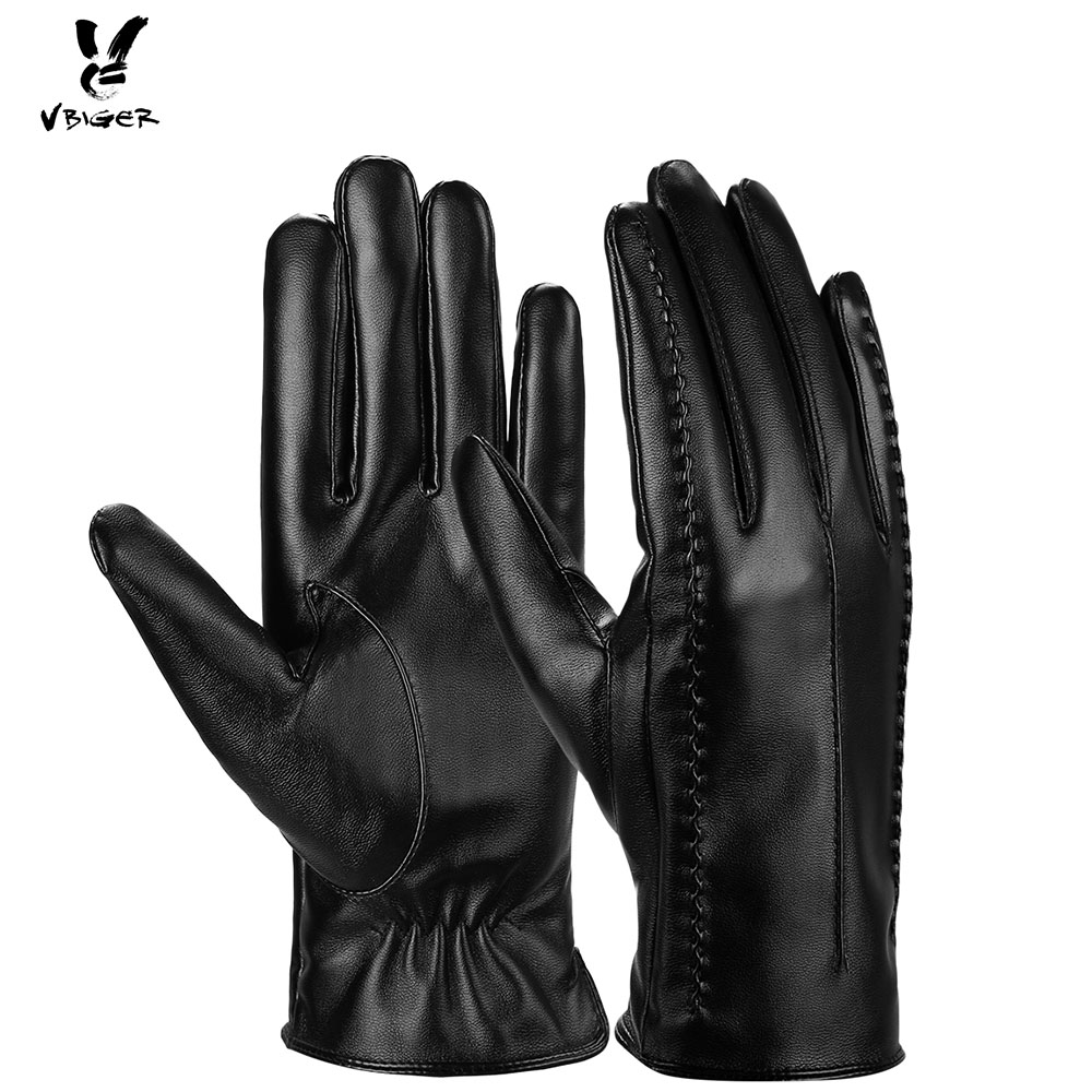 Apparel Accessories 2019 High Quality Genuine Fur Womens Gloves Winter Gloves Female Real Leather Gloves Thick Mitts Ski Waterproof Gloves Bowknot Discounts Sale