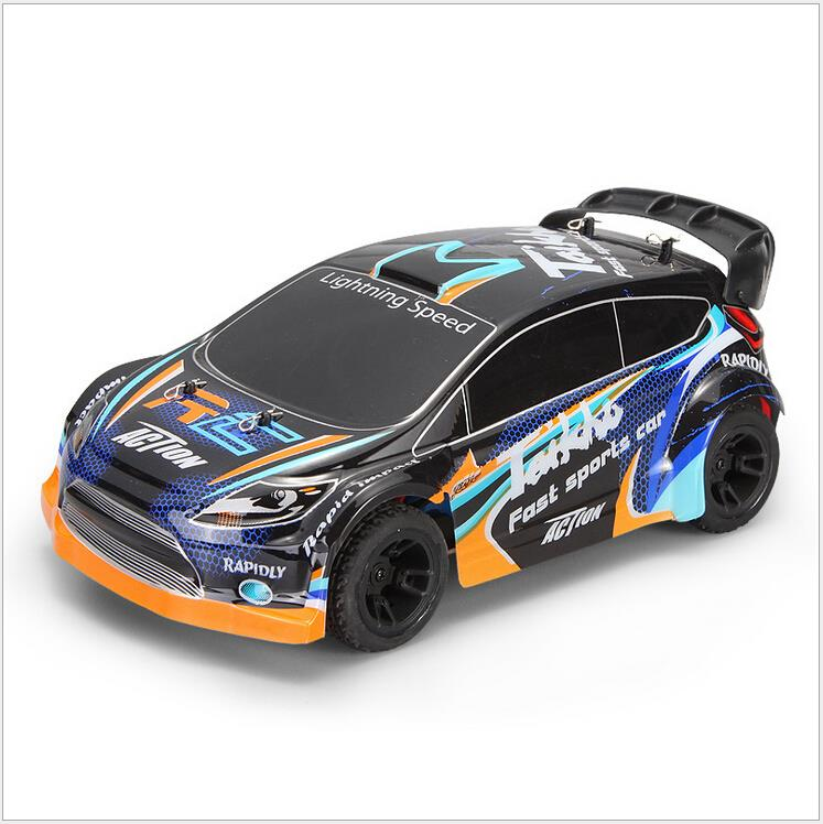 2016 New A242 remote Control Car toys for boys RC Car 1:24 2.4G Electric Brushed 4WD RC Rally Car RTR vs A979 A959 ...
