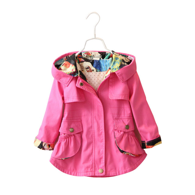 Aliexpress.com : Buy Children Girls Jacket Hooded Waist Cotton ...