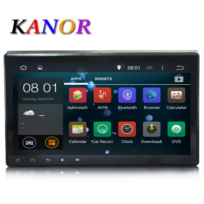 KANOR 10 1 2Din 1024 600 Android 7 1 Car DVD Player PC 2 Din Universal