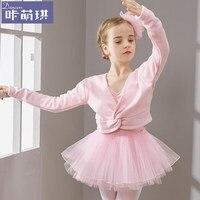 2017 yeni sevimli kız bale dress çocuk kız dans giyim çocuklar için bale kız dans leotard kız dancewear için kostümler
