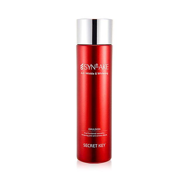 CLAVE SECRETA Synake Anitwrinkle Blanqueamiento Emulsión 150 ml Cara Cuidado de La Piel Loción Iluminadora Antiarrugas Reafirmante Anti-Envejecimiento crema