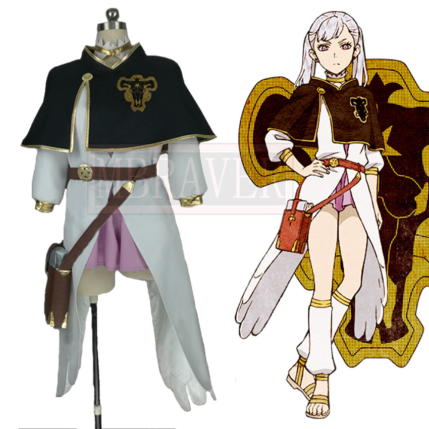 Black Clover Noell Silva Cosplay Costume Custom Made Any Size