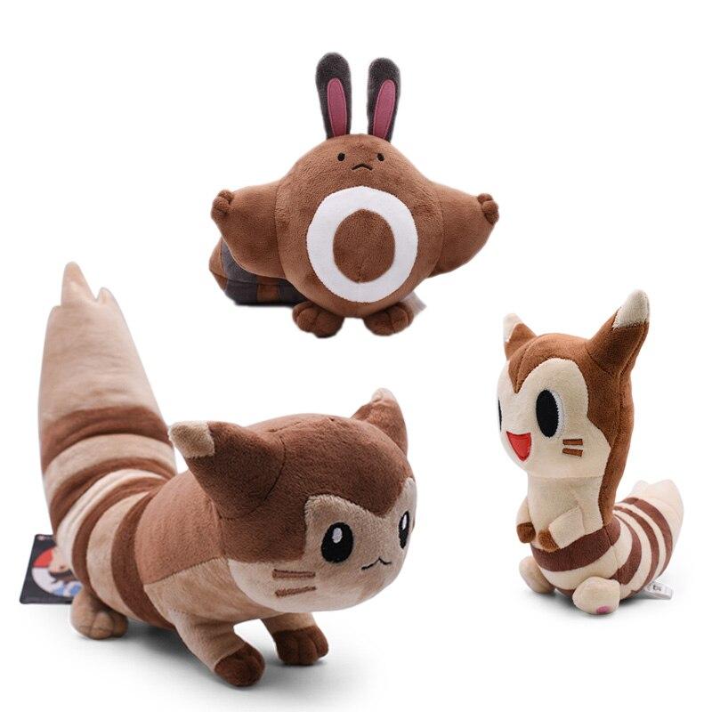 3 Styles Anime Sentret Furret Peluche Stuffed Plush Cartoon Dolls Hot Christmas Gift Baby Toys For Children
