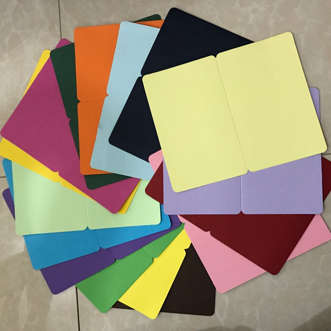 (10 Pieces/lot) DIY Blank Cards Hand Drawing Doodle Paper Cards Happy Birthday Card Greeting Cards 15x9.3cm
