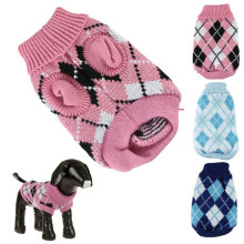 New Qualified Pet sweater for autumn winter warm knitting crochet clothes for dog chihuahua dachsh  Levert Dropship dig6415