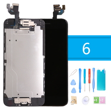 Luxury Suit LCD Full Assembly Complete for iPhone 6 Touch Screen Digitizer Display for iPhone 6 Replacement Screen + Tool цены