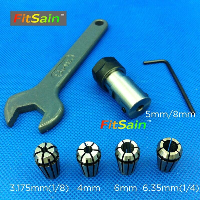FitSain-ER11 патронник с CNC шпиндел - Дървообработващо оборудване - Снимка 2