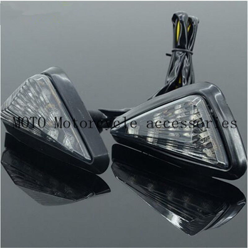 Motorcycle <font><b>LED</b></font> Turn Signals Light Lamp Indicator For Honda CBR F4 600 929 954 1000 RR <font><b>Suzuki</b></font> <font><b>GSXR</b></font> 1000 <font><b>750</b></font> 600 Yamaha R6 R1 image