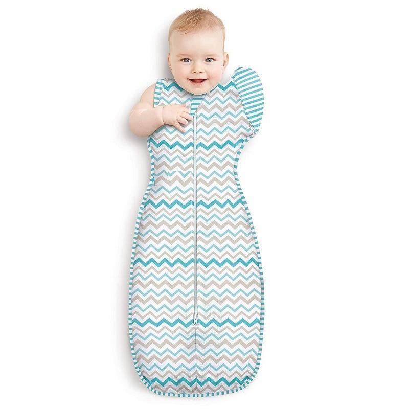 De bebé de algodón bolsa de dormir para recién nacido sobre Slaapzak ...
