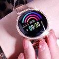 Спортивные умные часы монитор сердечного ритма кровяное давление физиологический цикл часы умный Браслет электронный Android iOS Bluetooth приложе...