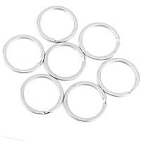 Wholesale Lot 100 Silver Stainless Steel Keychain Rings Key Holder Split 32mm 1 26 Camping Hiking