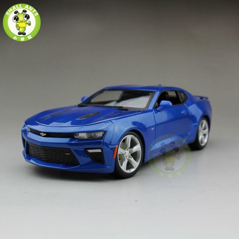 1/18 2016 Chevrolet CAMARO SS Diecast Model Car Maisto 31689 Blue