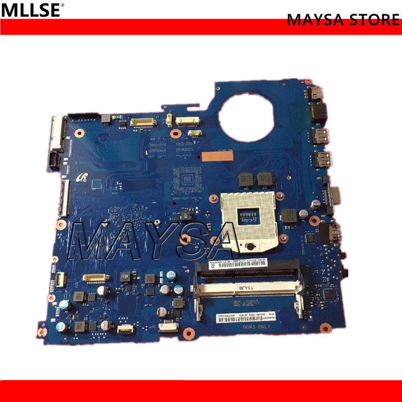 High Quality laptop motherboard for Samsung RV520 BA92-08190B HM65 PGA989 DDR3 Fully tested quality 48 4pa01 021 lz57 for lenovo ideapad b570 b570e laptop motherboard 11013537 lz57 hm65 pga989 ddr3 410m 1gb fully tested