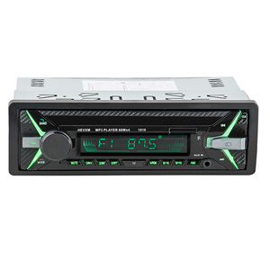 Image 1 - HEVXM 1010 car MP3 playe 1Din 12V Car multi function MP3 player, FM radio  USB Flash Disk player  AUX player