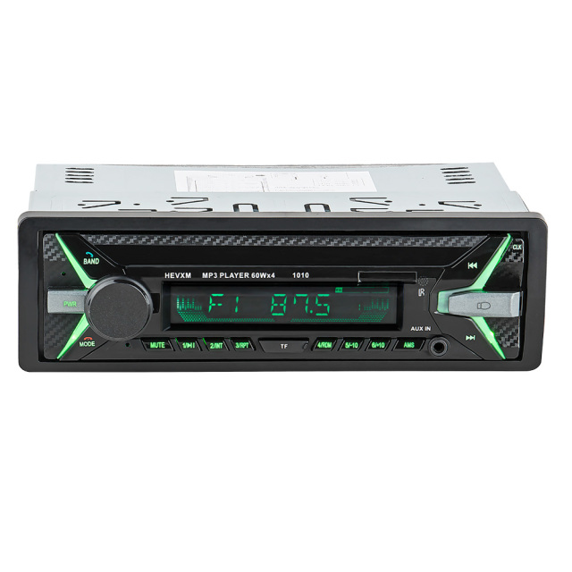 HEVXM 1010 car MP3 playe 1Din 12V Car multi function MP3 player, FM radio  USB Flash Disk player  AUX player