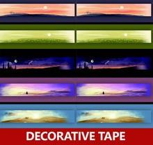 カラー和紙テープ 、 テープ 5