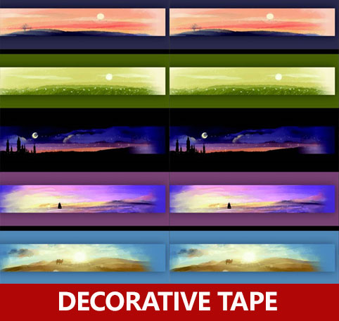 5pcs / lot , 10 meter long Chinese original color washi paper tape , night scene scrapbooking tape set for masking mc7812 induction tobacco moisture meter cotton paper building soil fibre materials moisture meter