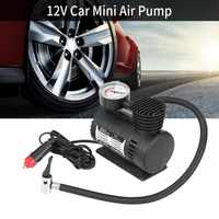 12V 300PSI Car Auto Portable Mini Electric Air Compressor Kit for Ball Bicycle Minicar Tire Inflator Pump Car Accessories