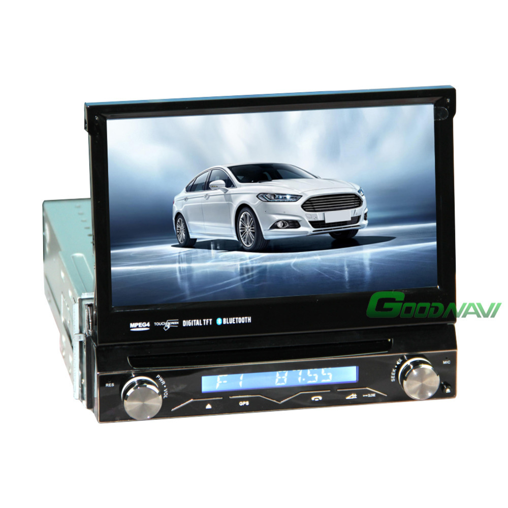 detachable 1 din touch screen 7 car autoradio dvd cd. Black Bedroom Furniture Sets. Home Design Ideas