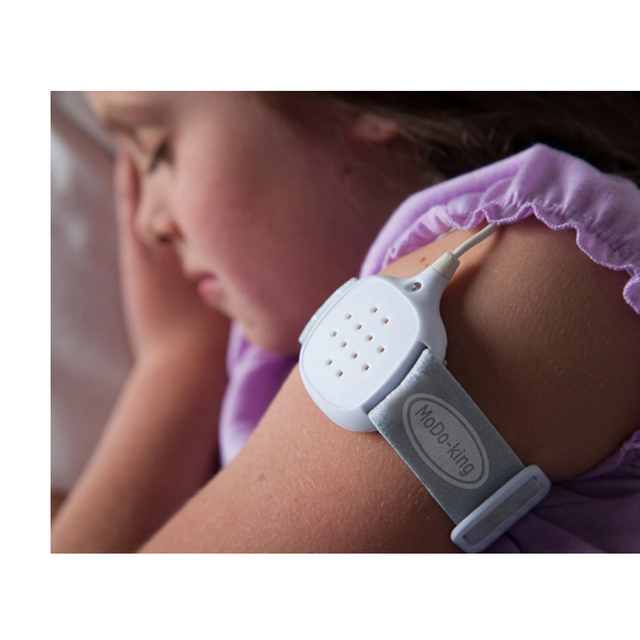 MoDo-king MA108 alarma enuresis enuresis alarma recordatorio mojado Adultos suministros de atención Médica de los Bebés de navidad buen regalo