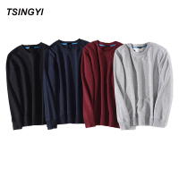 Tsingyi Hot Sale Solid Skateboard Hoodies Men Women Spring Autumn O Neck Long Sleeve Cotton Sudadera