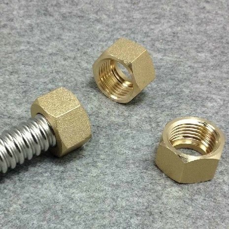 12;34,1 Optional Special For Corrugated TubeHose Solid Brass Hex Nuts Stainless Steel Nuts