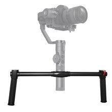 С двумя рукоятками для Zhiyun Crane 2 двойной Ручной Выдвижная Ручка рукоятки для Zhiyun Crane 2 3-осевой шарнирный стабилизатор для камеры GoPro