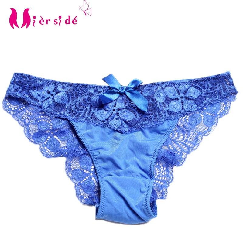 Mierside 2717-ropa interior mujeres cómodo y sexy lace bragas para las mujeres  ropa interior femenina S M  l XL d5b2beb0ef37