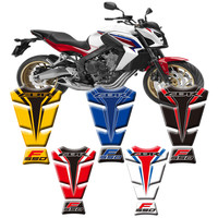 New Motorcycle 3D Fuel Tank Protective Stickers Decals For Honda CBR650F 2014 2015 2016 Fish Bone Sticker