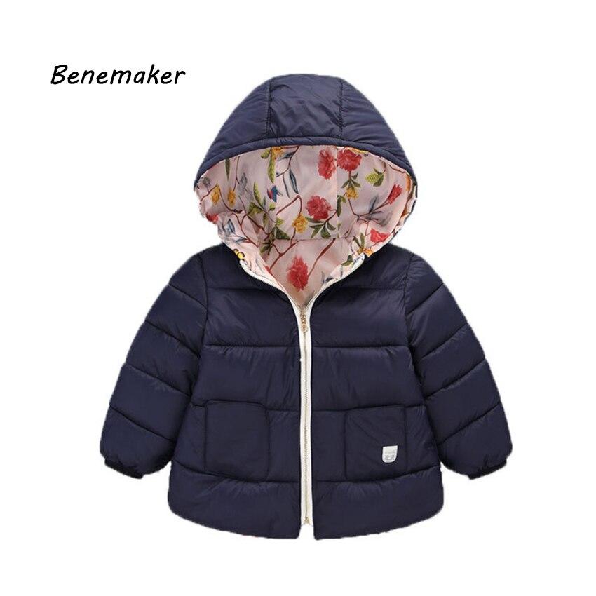 Jungen Kleidung UnermüDlich Benemaker Neue Kinder Winter Baumwolle Gefütterte Jacken Für Mädchen Jungen Kleidung Mantel Overalls Kinder Baby Mit Kapuze Kleidung Oberbekleidung Jh064