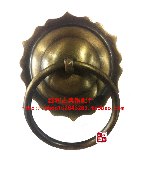 [accessories] antique copper copper bonus classical / classical Chinese / /7.5cm/ bedroom door knocker handle[accessories] antique copper copper bonus classical / classical Chinese / /7.5cm/ bedroom door knocker handle