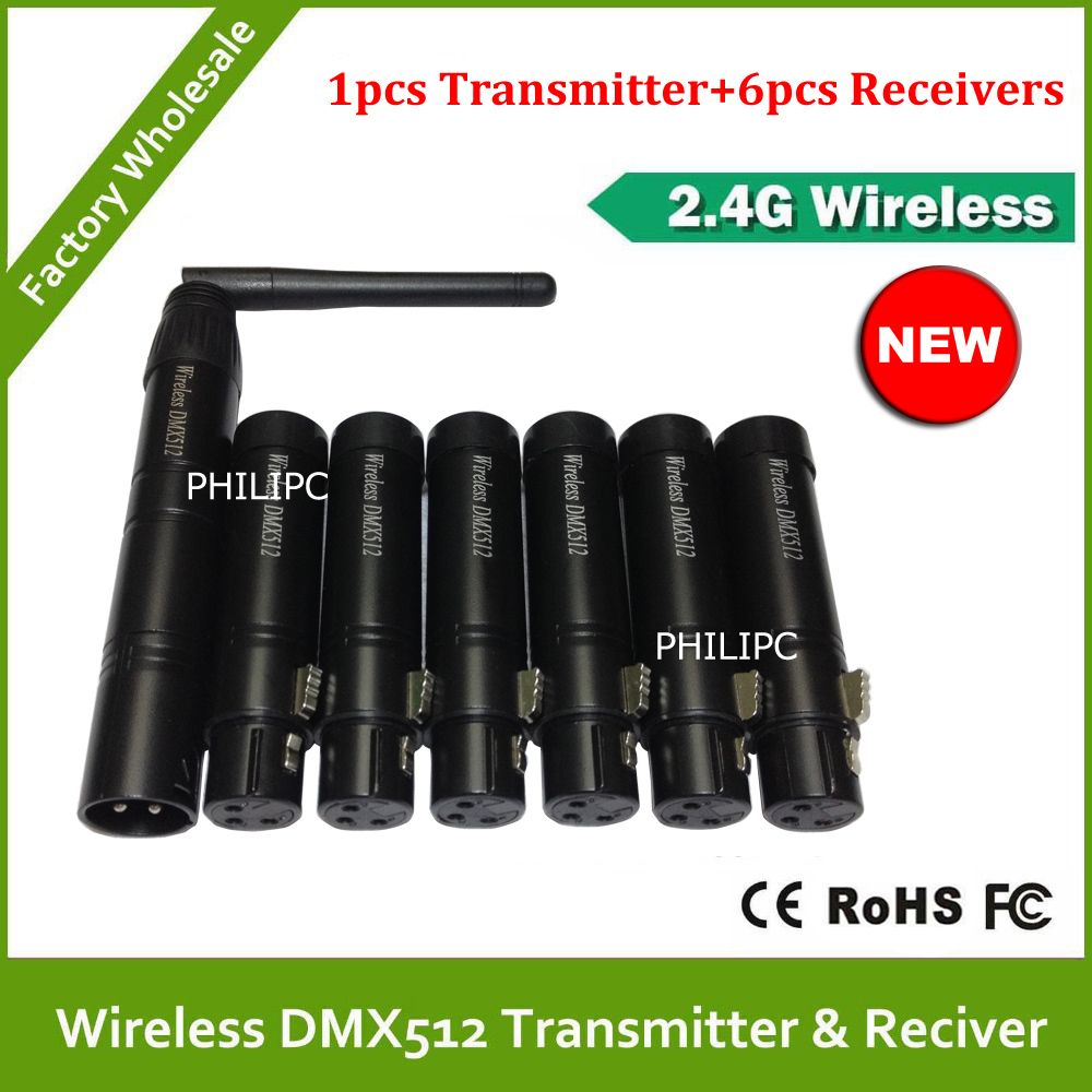 DHL Free Shipping wifi dmx wireless controlled, dmx tranciever receiver dhl free shipping 11pcs wireless dmx512 controller rechargeable receiver