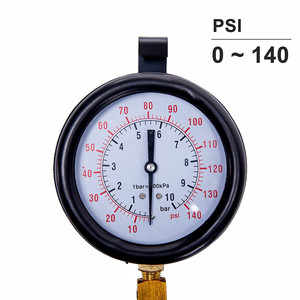 Image 3 - Auto Enigne Fuel System Oil Pressure Tester Gauge Car Diagnosis Analysis Repair Tool Kit 0 140 PSI
