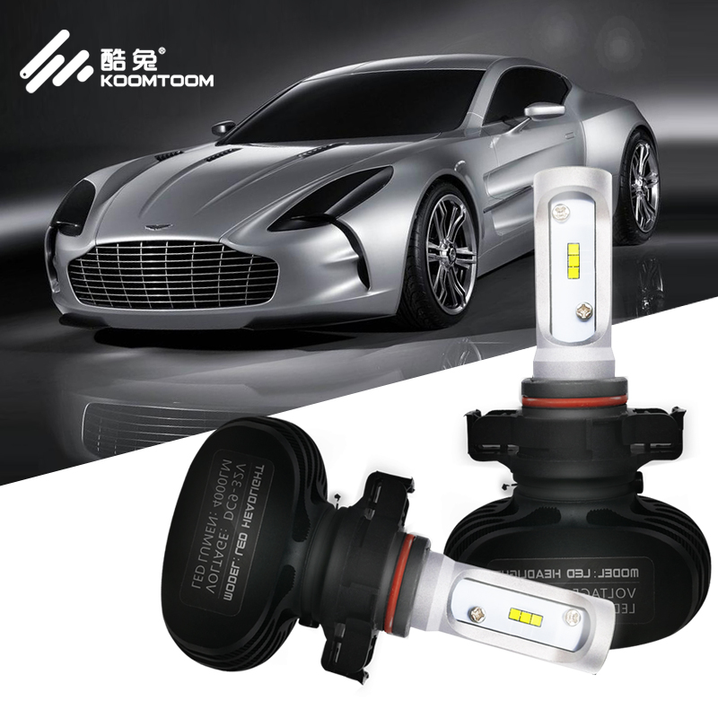 Humorous Car Led Mini Car Headlight H1 H7 H8 H9 H11 9005 9006 9012 For Auto 12v Led Lamp 36w 8000lm Adapt To All Models Cool In Summer And Warm In Winter Car Headlight Bulbs(led)