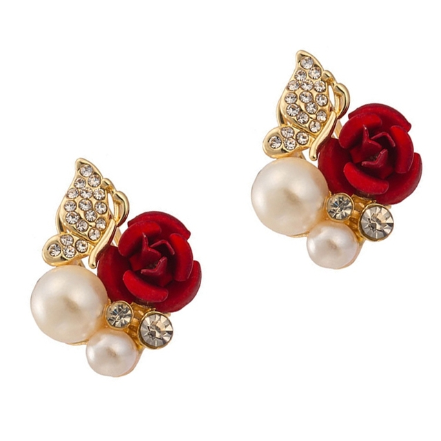 beautiful for gold design lady detail accessories earrings product buy