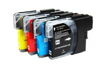 1Set Ink Cartridge LC 1100 LC 980 for Brother LC1100 LC980 Printer Cartridge for Brother DCP 185C 195C 9805C Printer снпч brother dcp 375cw картриджи lc 980bk lc 980y lc 980m lc 980c