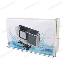 External Side Power Supply for Hero 5 Action Camera#Shockproof Frame + 2300mAh#High Quality