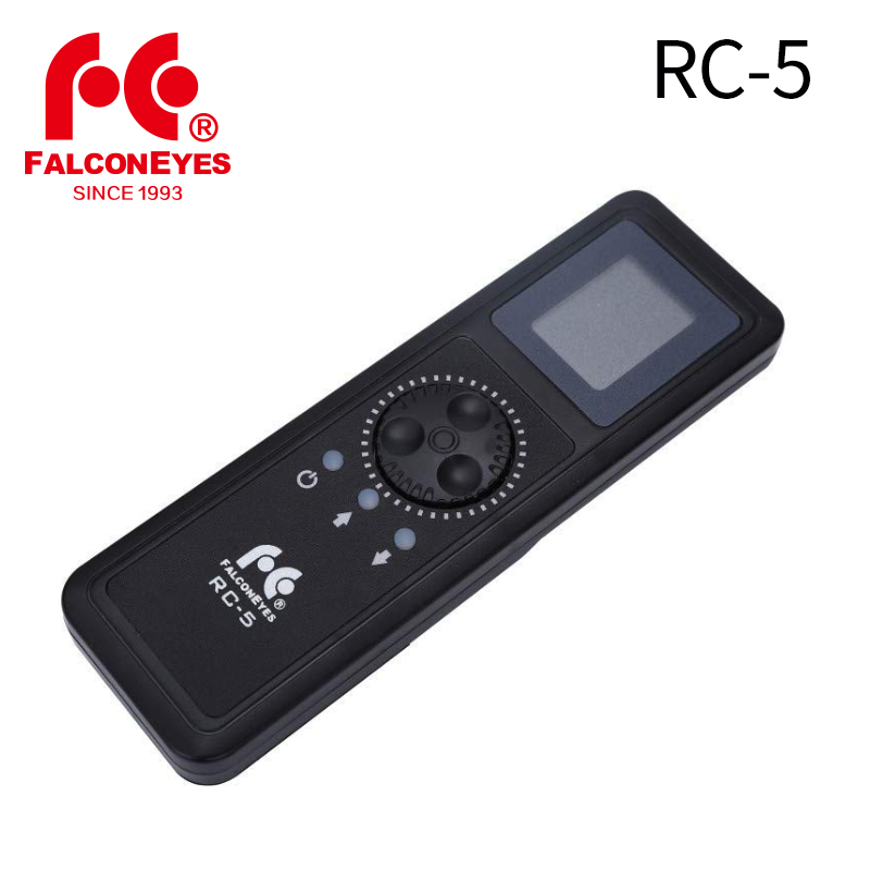 Falcon Eyes RC 5 Remote Control for LED RGB Camera Video Light RX 748 736 718