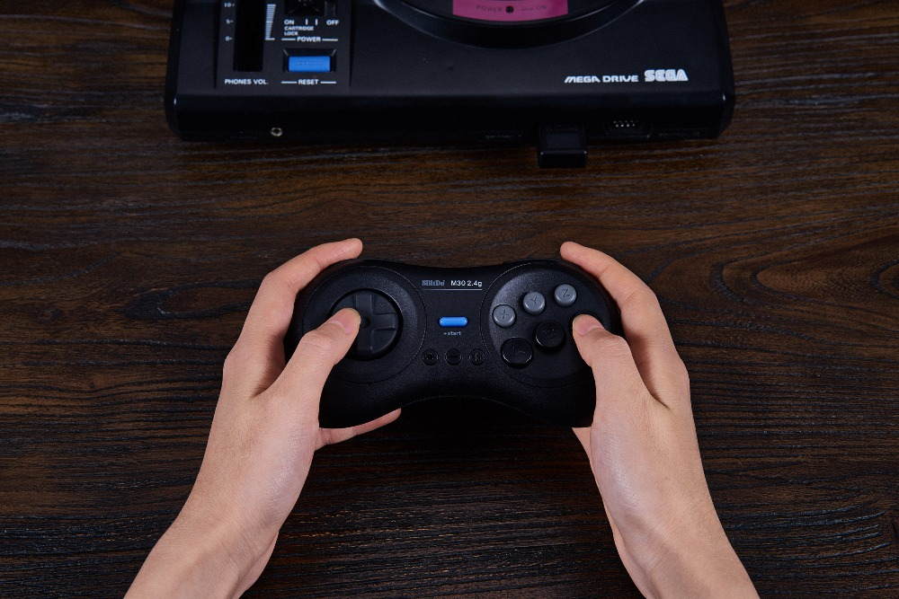 8BitDo M30 2.4G Wireless Gamepad for the Original Sega Genesis and Sega Mega Drive - Sega Genesis 10