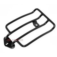 Motorbike Steel Luggage Rack Black For Harley Sportster 883 1200 Forty Eight Iron 883 XL1200V XL1200X
